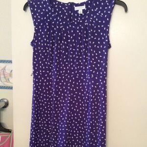 Charter Club 10P Purple Dress